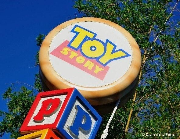 Logo de Toy Story en Disneyland Paris