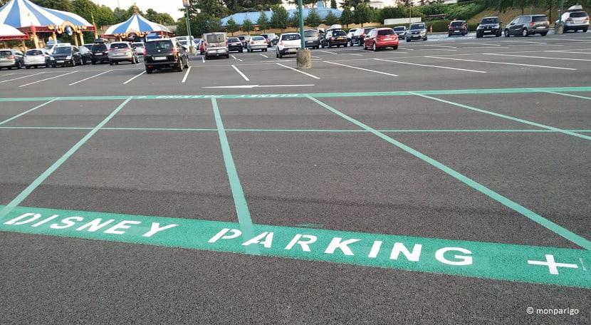 "Aparcamiento ""Disney parking +"" en Disneyland París"