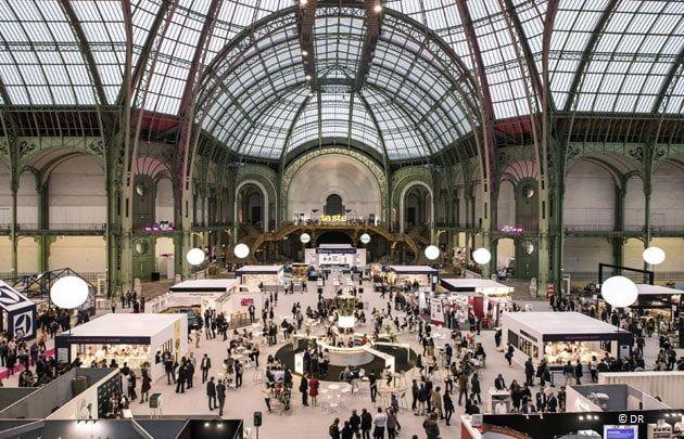 Interior del Grand Palais durante el Taste of Paris